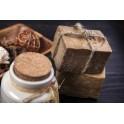 Gommage du corps au savon Noiravec application de crème (35 mns)