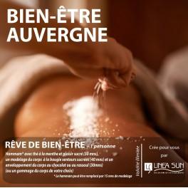 """BOX BIEN ÊTRE AUVERGNE """"Reve de Bien être"""" (1h30/2h)"""