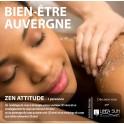 """BOX BIEN ÊTRE AUVERGNE """"Zen Attitude""""(1h15)"""