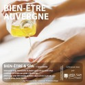 """BOX BIEN ÊTRE AUVERGNE """"Bien être & Spa""""(1h15)"""